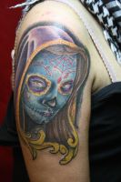 day of the dead girl tattoo by SimplyTattoo