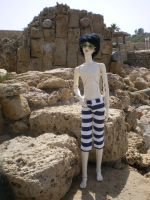 Mouse in Caesarea 1 by raewhitewolf