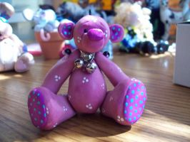 Jointed bear by ryliecat