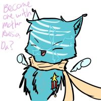 Become one with Russia Taka by lunarwingthecat
