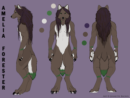 Amelia's Ref Sheet by Margie22