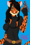 Tigergirl (base by Bases-Xs) by tigergirlXD