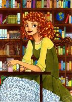 In The Library by dontachos