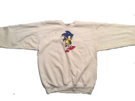 Fan Made Sonic The Hedgehog Sweater UNFINISHED by AngryHedgehogs