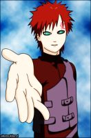 Gaara coloreado by akatsukiland