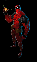 deadpool by Thytonius