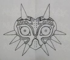 Majora's Mask tattoo design by Maszeattack