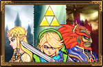 Hyrule Warriors of Wisdom, Courage, and Power by TheSixthSaint
