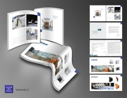 brochure layout 3 by heranush