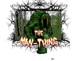 Man-Thing color by RCarter
