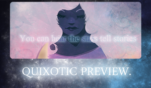Quixotic Charity Art book Preview by Ame-nii