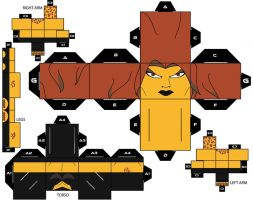 CubeeCraft Cheetah DC Super Heroes by handita2006