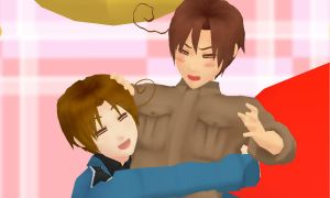 MMD Brothers by Aisuchuu