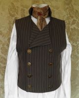 Sweeney Todd inspired waistcoat PCW4-1 by JanuaryGuest