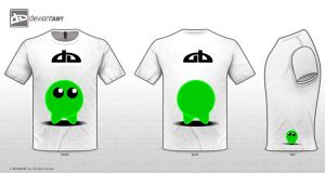 Cute Green Monster by vmlng