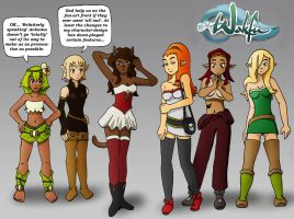 Wakfu... Girls and Women by Bizmarck