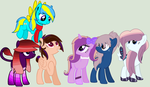 |Mane 6, maybe?| by Dreami-Chan