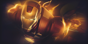 Iron Man by SalvationGraphics