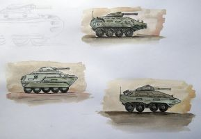 Panzers concept by DerkSeven