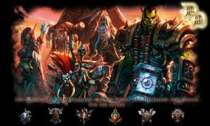 Warcraft's Horde Sigature by DemianDillers