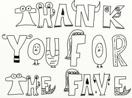 Thank You For The Fave by AnimeVamp4Life