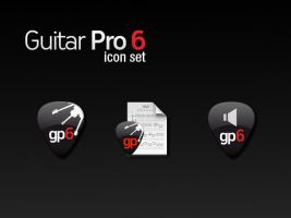 Guitar Pro 6 icon set by Monkeyrumen