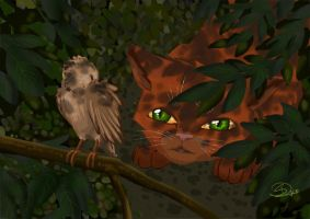 Warrior Cats - Firepaws Hunt by aThousandPaws