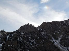 Color Scale Over Mountains by bowencormac