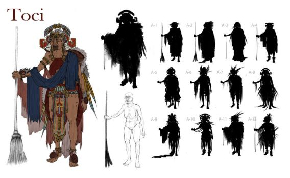 Toci: Character Design by Orhasket