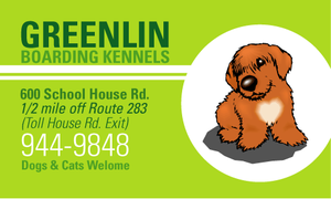 Greenlin Business Card by dragonorion