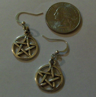Pentacle Ear Rings by Prepare-Your-Bladder