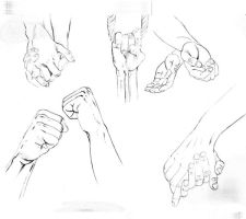 Hands Study by wishful-puppeteer