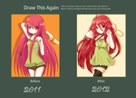 Draw this again:Shakugan no Shana ice cream remake by RinRinDaishi