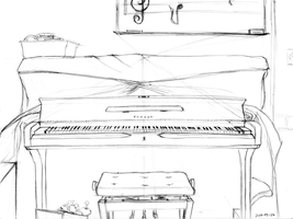 Piano Perspective by tynafish