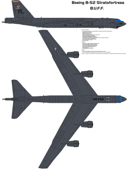 Boeing B-52 23d Bomber by bagera3005