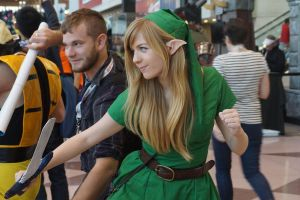 NYCC 2012 - Link from The Legend of Zelda by kamau123