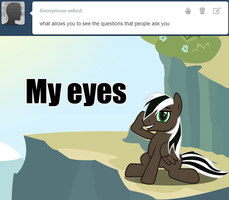 I can see everything! by Spectty