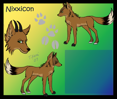 Nixxicon Ref for Rizzadae by TikamiHasMoved