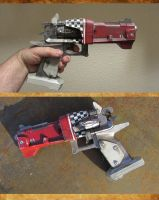 Borderlands Torgue Pistol by HerbertW