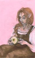Eglantine, Mother of Peregrin by PippinIncarnate
