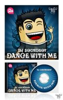 Cd cover for Dj Soundboy 2 by BraveDesign