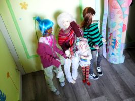 My BJD's Family! by TheGreenFish