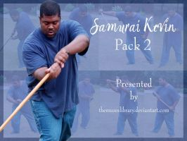 Samurai Kevin PACK 2 by themuseslibrary