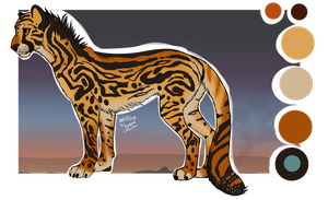 Character sale: Cheetah [I glow!] by Psitt