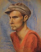 Male Model in Pastel Study by new-moon-night