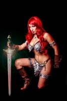 Red Sonja 4 by malcolmflowers