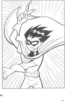 Teen Titans coloring book P.1 by Rustytoons