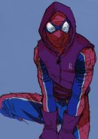 Hoody Spidey by ACE by Nathan123qwe