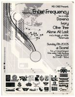 Enterfrequency flyer by ihsanpunkrock