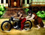 Zutara Week 2014: Motorcycle by Eira1893